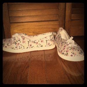 Floral Spring Sneakers